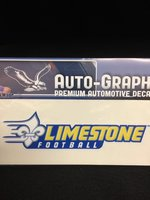 Limestone Football - Logo Decal