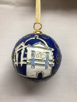 Kitty Keller Limestone University Logo Ornament